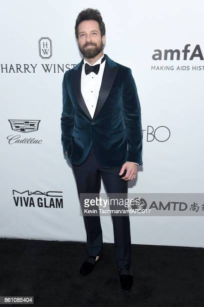Ian Bohen at amfAR Los Angeles 2017 at Ron Burkle's Green Acres Estate on October 13 2017 in Beverly Hills Californi