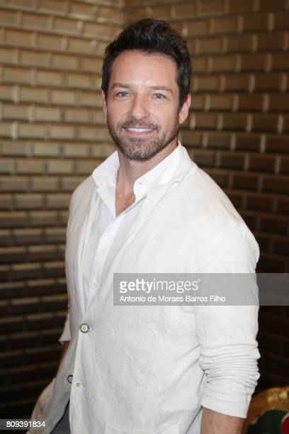 Ian Bohen attends the Jean Paul Gaultier Haute Couture Fall/Winter 20172018 show as part of Haute Couture Paris Fashion Week on July 5 2017 in Paris...