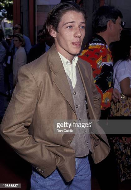 Ian Bohen attends the premiere of 'Wyatt Earp' on June 18 1994 at Mann Chinese Theater in Hollywood California