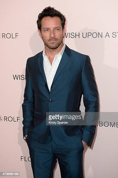 Ian Bohen attends the Viktor Rolf FlowerBomb Fragrance 10th Anniversary Party as part of Paris Fashion Week Haute Couture Fall/Winter 2015/2016 on...