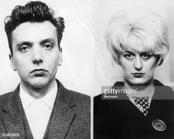 CHESTER ENGLAND05/06/66 Ian Brady and his blonde mistress Myra Hindley were found guilty May 6 here of murder in the sensational 'Bodies of the Moor'...