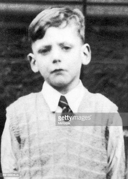 Ian Brady childhood photograph Camden Street School Gorbals area of Glasgow Scotland Circa 1944 The Moors murders were carried out by Ian Brady and...