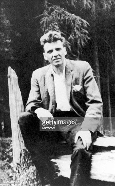 Ian Brady Circa 1961 pictured in Derbyshire Forest where he used to go shooting The Moors murders were carried out by Ian Brady and Myra Hindley...