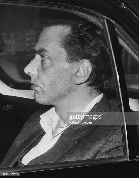 Ian Brady in police custody prior to a court appearance where he will be charged with the murder of 10 yearold Lesley Ann Downey 22nd October 1965...