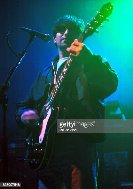 Ian Broudie of the Lightning Seeds performing on stage at Astoria Theatre London 08 December 1997
