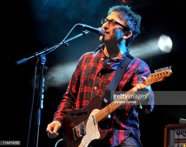 Ian Broudie of The Lightning Seeds performs at Friends of Mine Festival at Capesthorne Hall on May 20 2011 in Macclesfield England