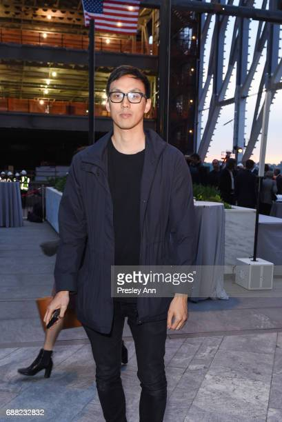 Ian Cheng attends The Shed First Reveal VIP Cocktail Party at The Shed on May 24 2017 in New York City