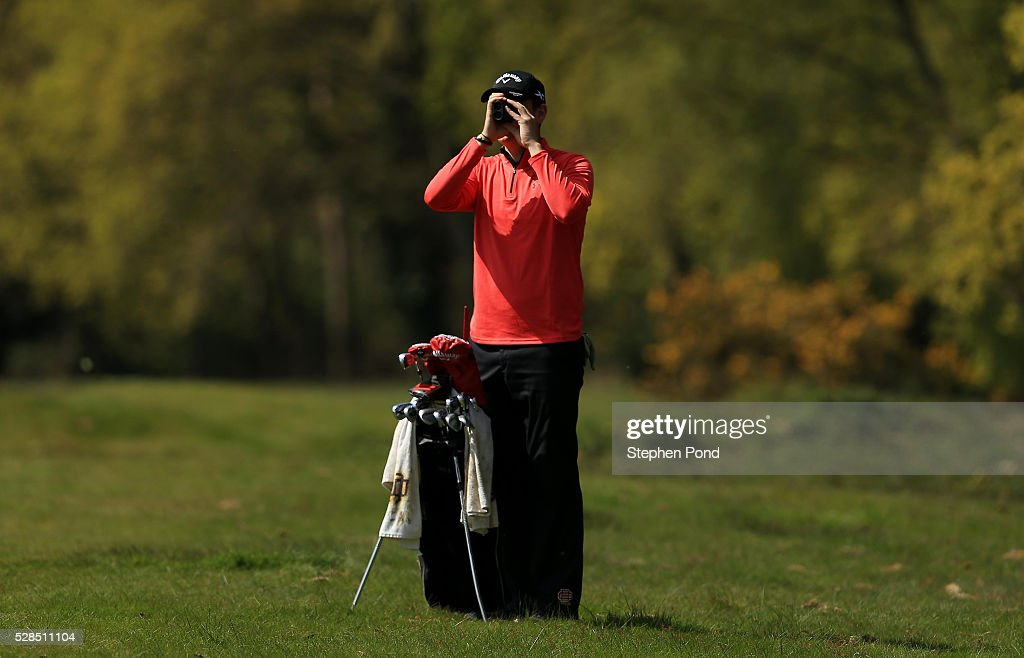 Ian Clark of Hendon Golf Club during the PGA Assistants Championship East Qualifier at Ipswich Golf Club on May 5, 2016 in Ipswich, England.