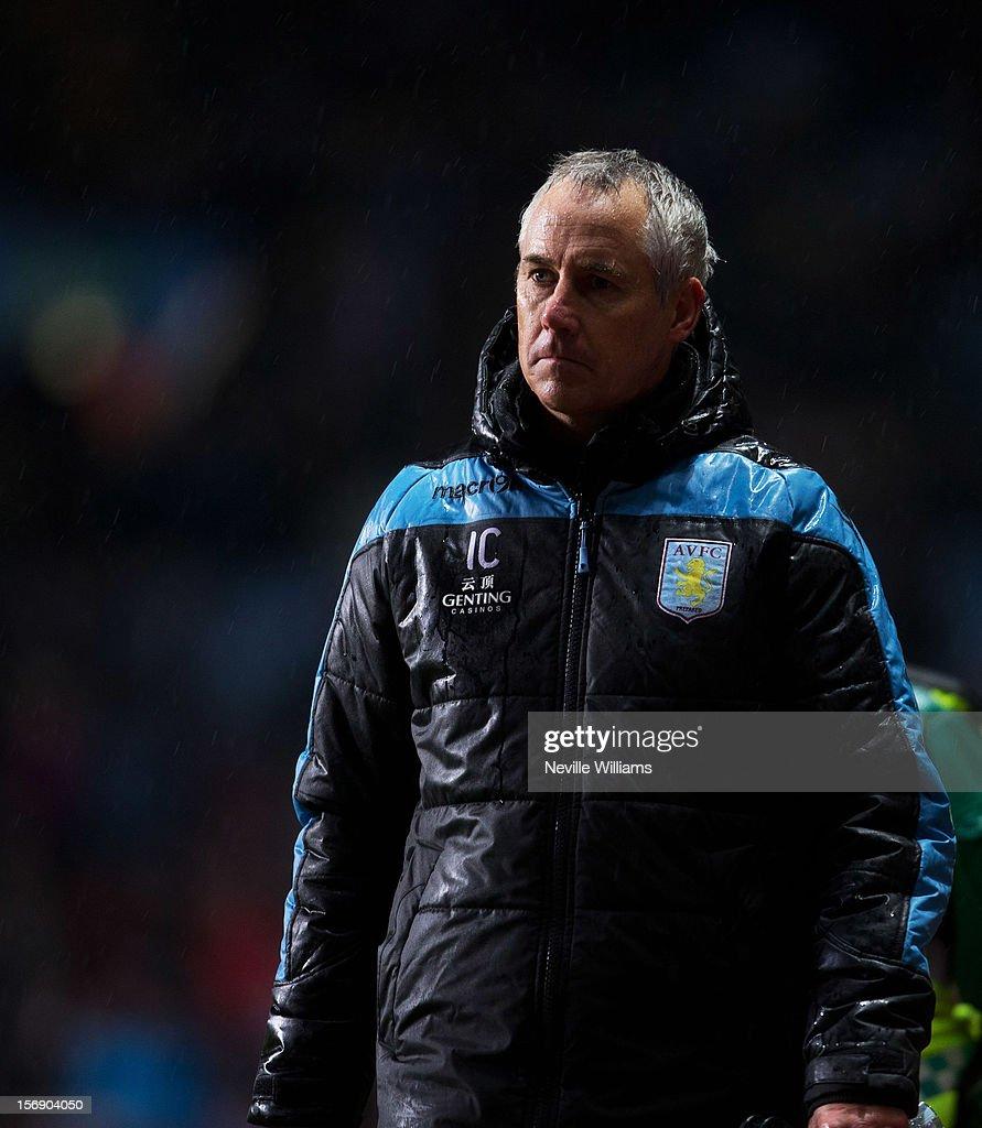 Ian Culverhouse, assistant manager of Aston Villa, looks onduring the Barclays Premier League match between Aston Villa and Arsenal at Villa Park on November 24, 2012 in Birmingham, England.