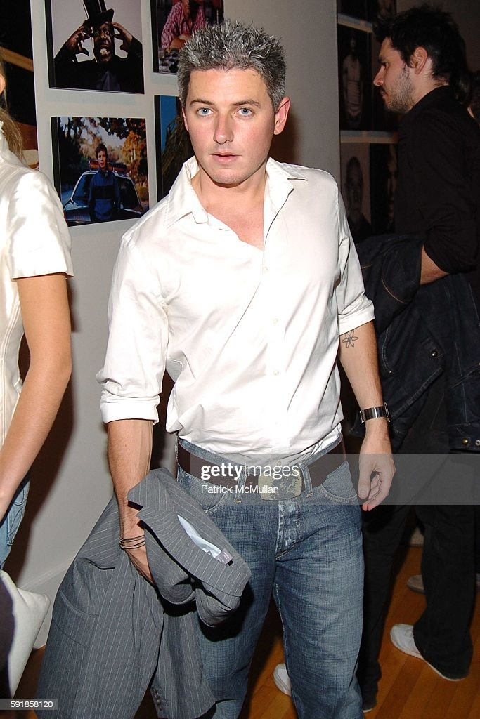 Ian Daly attends DETAILS and EMPORIO ARMANI '5 Years of Leading Men' Party at The Newspace on October 5 2005 in New York City