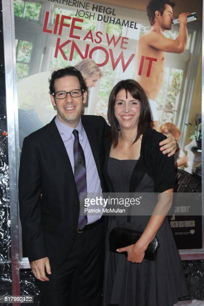 Ian Deitchman and Kristin Rusk Robinson attend WARNER BROS PICTURE NEWS Presents the World Premiere of LIFE AS WE KNOW IT at Ziefgeld Theatre on...