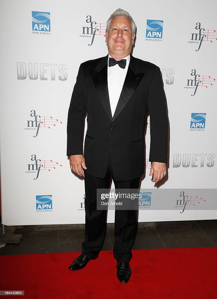Ian Dickson poses at the 4th Annual Duets Gala concert at the Capitol Theatre on October 14, 2013 in Sydney, Australia.