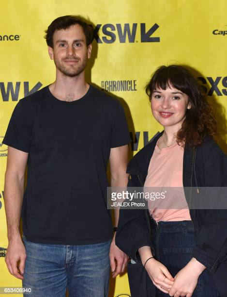 Ian Durkin and Meghan Oretsky of Vimeo attend 'Vimeo Staff Picks Live Director's Commentary' during 2017 SXSW Conference and Festivals at Vimeo on...