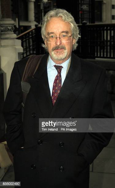 Ian Firth senior Partner in solicitors firm Raley's of Barnsley arrives for a tribunal in London regarding miner's claims for compensation