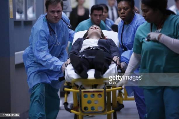 THE BLACKLIST 'Ian Garvey #13' Episode 508 Pictured Megan Boone as Elizabeth Keen