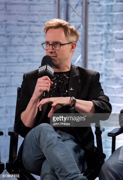 Ian H Watkins speaks during a BUILD event at AOL London on April 25 2017 in London England