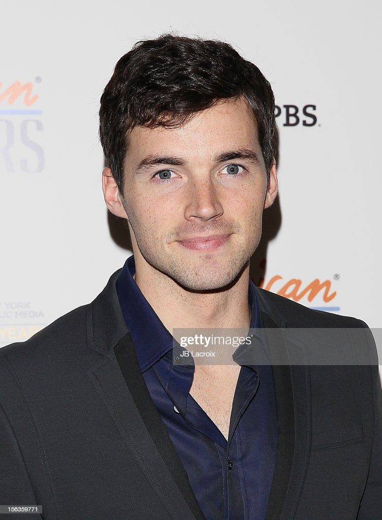 Ian Harding attends the 'Inventing David Geffen' Los Angeles Premiere held at Writer's Guild Theater on November 13, 2012 in Los Angeles, California.