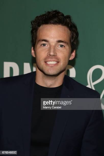 Ian Harding signs copies of his new book 'Odd Birds' at Barnes Noble Union Square on May 2 2017 in New York City