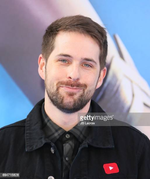 Ian Hecox attends the premiere of Warner Bros Pictures' 'Wonder Woman' at the Pantages Theatre on May 25 2017 in Hollywood California