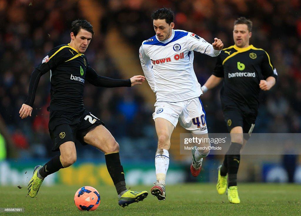 Rochdale v Sheffield Wednesday - FA Cup Fourth Round