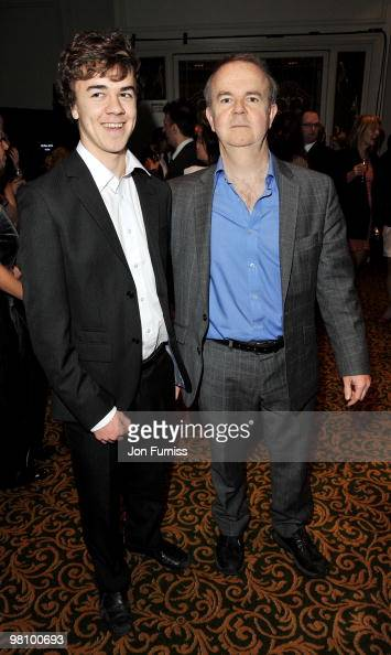 Ian Hislop and his son Will Hislop attend the Jameson Empire Film Awards at The Grosvenor House Hotel on March 28 2010 in London England