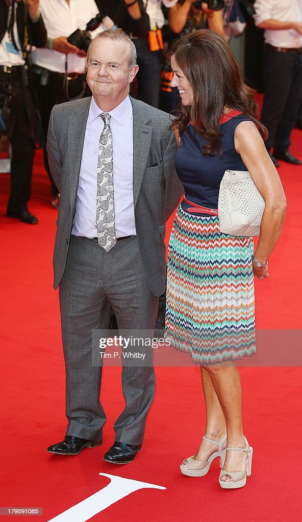 Ian Hislop and Victoria Hislop attend the World Premiere of 'Diana' at Odeon Leicester Square on September 5, 2013 in London, England.