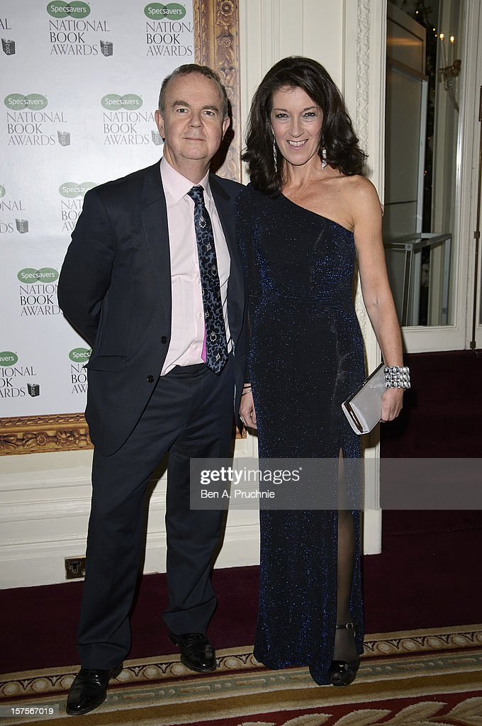 Ian Hislop and Victoria Hislop attends the Specsavers National Book Awards at Mandarin Oriental Hyde Park on December 4, 2012 in London, England.
