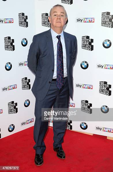 Ian Hislop attend the South Bank Sky Arts Awards at The Savoy Hotel on June 7 2015 in London England