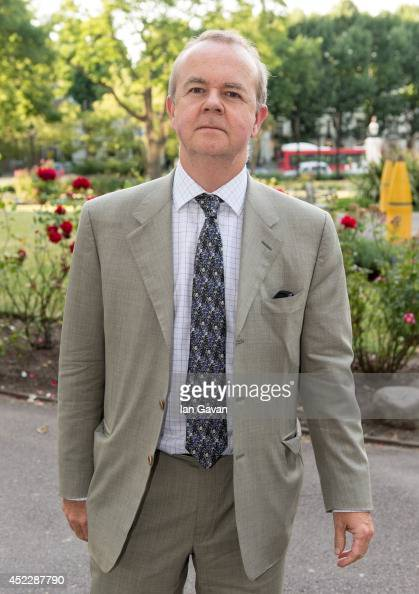 Ian Hislop attends a party to mark the reopening of Imperial War Museum on July 17 2014 in London England
