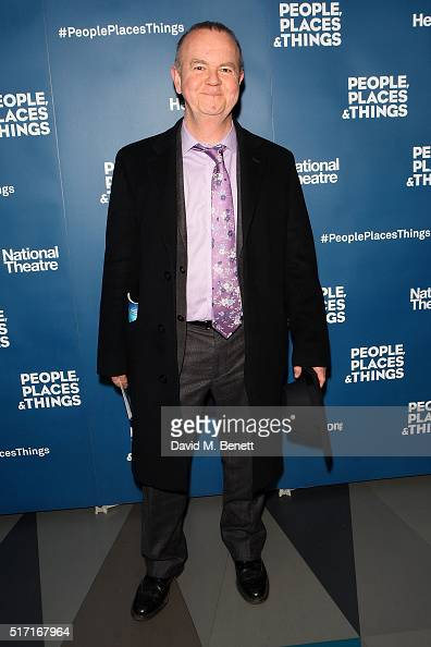 Ian Hislop attends the press night after party for 'People Places and Things' at The Picturehouse Central on March 23 2016 in London England