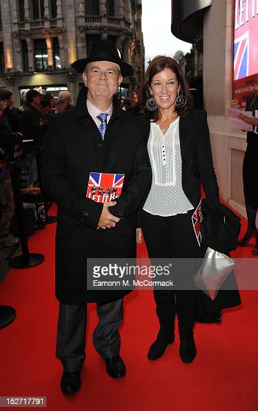 Ian Hislop attends the press night of 'Let It Be' at Prince Of Wales Theatre on September 24 2012 in London England