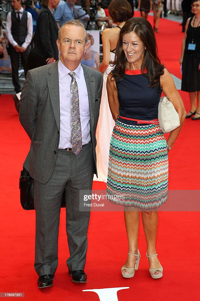 Ian Hislop(L) attends the World Premiere of 'Diana' at Odeon Leicester Square on September 5, 2013 in London, England.