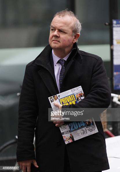 Ian Hislop sighting at the BBC on December 5 2014 in London England