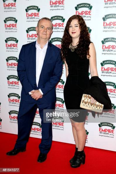 Ian Hislop with his wife Victoria attend the Jameson Empire Awards 2014 at the Grosvenor House Hotel on March 30 2014 in London England Regarded as a...