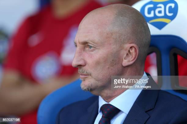 Ian Holloway Crystal Palace manager