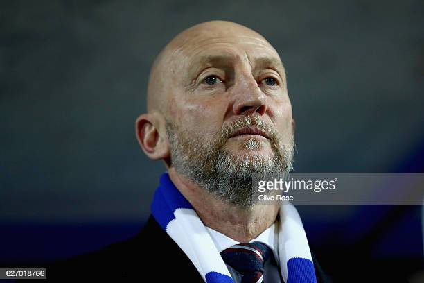 Ian Holloway manager of QPR looks on prior to kick off during the Sky Bet Championship match between Queens Park Rangers and Wolverhampton Wanderers...