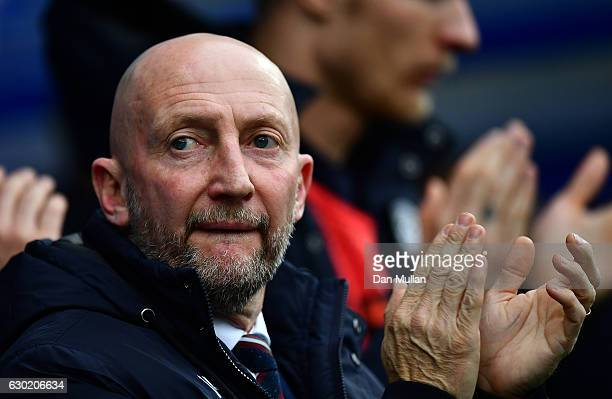 Ian Holloway Manager of Queens Park Rangers looks on during the Sky Bet Championship match between Queens Park Rangers and Aston Villa at Loftus Road...