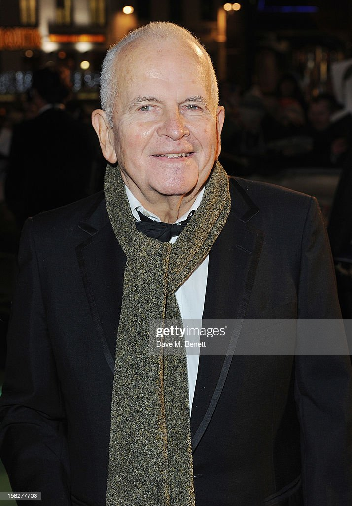 <a gi-track='captionPersonalityLinkClicked' href=/galleries/search?phrase=Ian+Holm&family=editorial&specificpeople=644109 ng-click='$event.stopPropagation()'>Ian Holm</a> attends the Royal Film Performance of 'The Hobbit: An Unexpected Journey' at Odeon Leicester Square on December 12, 2012 in London, England.