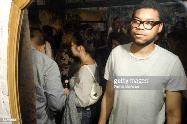 Ian Huntley attends Annie Havlicek LES Store Opening Party at 154 Orchard Street on June 16 2010 in New York City