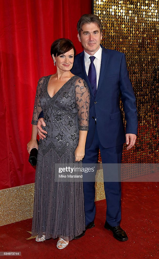Ian Kelsey and <a gi-track='captionPersonalityLinkClicked' href=/galleries/search?phrase=Mia+Michaels&family=editorial&specificpeople=4358945 ng-click='$event.stopPropagation()'>Mia Michaels</a> attend the British Soap Awards 2016 at Hackney Empire on May 28, 2016 in London, England.