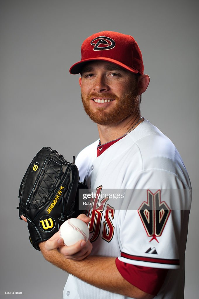 Ian Kennedy #31 of the Arizona Diamondbacks poses during photo day at Salt River Fields at Talking Stick on March 1, 2012 in Scottsdale, Arizona.