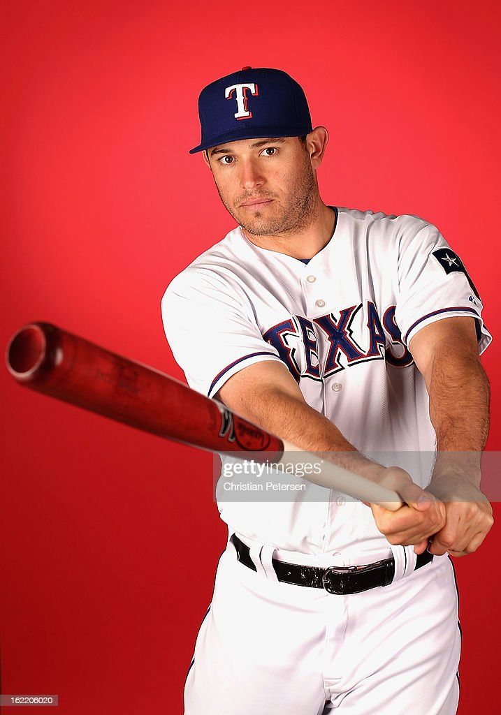 Ian Kinsler #5 of the Texas Rangers poses for a portrait during spring training photo day at Surprise Stadium on February 20, 2013 in Surprise, Arizona.