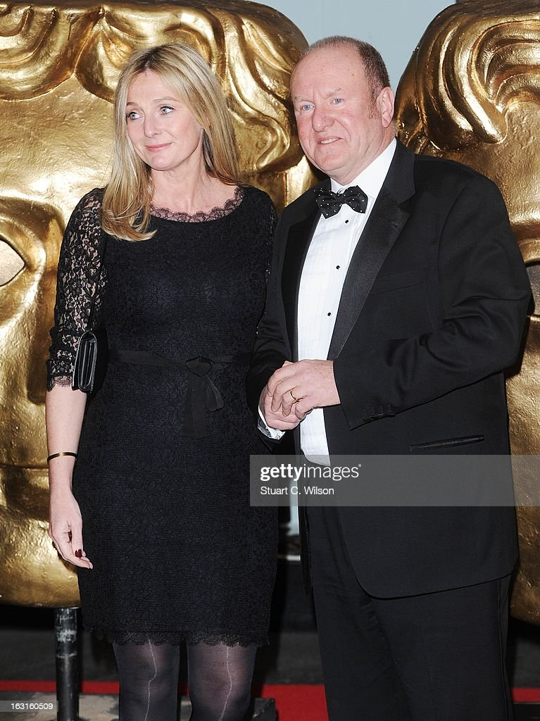 Ian Livingstone (R) attends The British Academy Games Awards at London Hilton on March 5, 2013 in London, England.