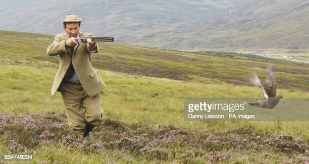 Ian McCall Game and Wildlife Conservation Trust Director Scotland on the Ralia and Milton estate ahead of the start of the grouse shooting season
