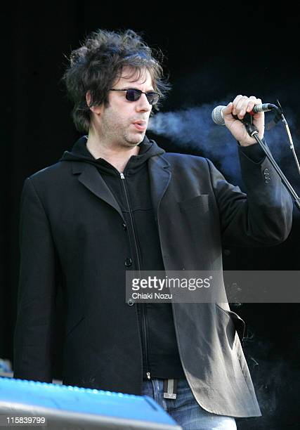 Ian McCulloch from Echo the Bunnymen during O2 Wireless Music Festival Day 3 at Hyde Park in London Great Britain