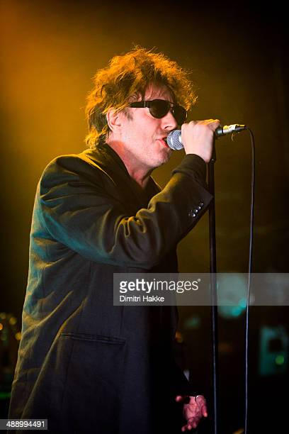 Ian McCulloch of Echo and The Bunnymen performs on stage at Tivoli on May 8 2014 in Utrecht Netherlands