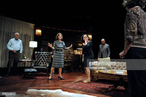 Ian McElhinney as Harry Diana Hardcastle as Edna Lucy Cohu as Julia Tim PigottSmith as Tobias and Penelope Wilton as Agnes in Edward Albee's 'A...