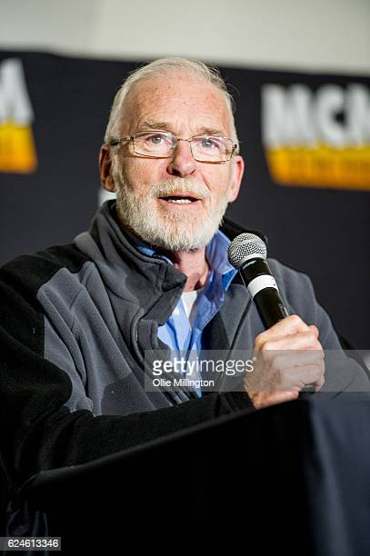 Ian McElhinney discuss his time in Game of Thrones on day 2 of the November Birmingham MCM Comic Con at the National Exhibition Centre in Birmingham...