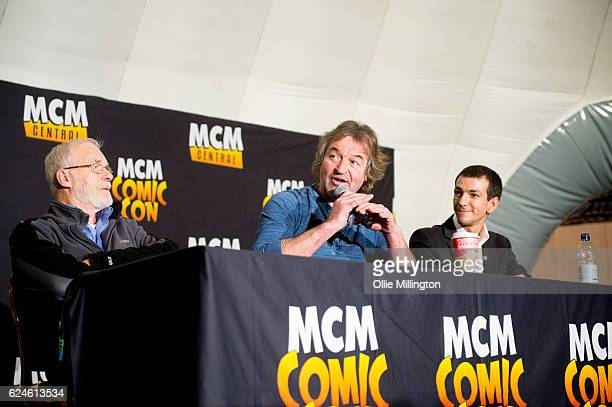 Ian McElhinney Ian Bettie and Josef Atlin discuss their time in Game of Thrones on day 2 of the November Birmingham MCM Comic Con at the National...