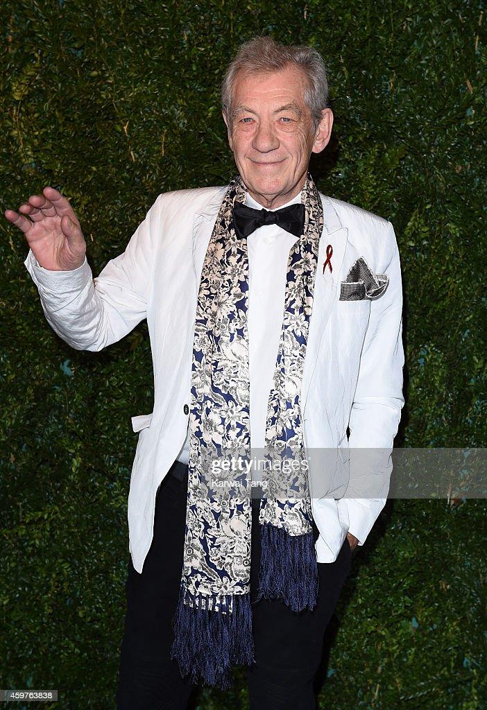 Ian McKellan attends the 60th London Evening Standard Theatre Awards at London Palladium on November 30, 2014 in London, England.